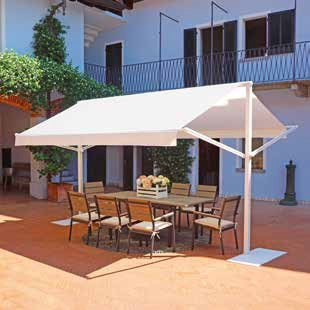 MARQUISE 4 x 3 mt, tenda sole, gazebo deluxe