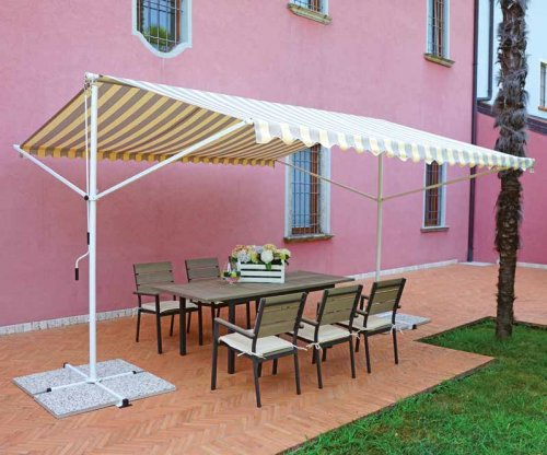 MARQUISE 4 x 4 mt, tenda sole, gazebo deluxe