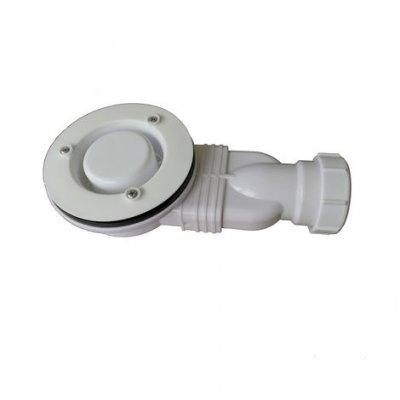 Piletta di scarico ultra slim diametro 90mm per piatto doccia ZAR