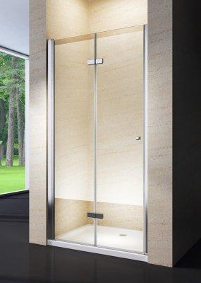 Porta doccia a soffietto cristallo 6mm trasparente o opaco h.190cm CLIO