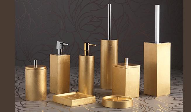 Mitepek.it set accessori bagno completo 4 pezzi porta scopino