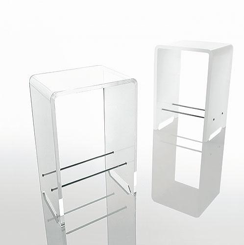 Sgabelli In Plexiglass.Sgabello Bagno Doccia K130