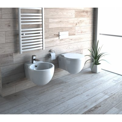 Sanitari sospesi moderni wc bidet e copriwater soft close CUP