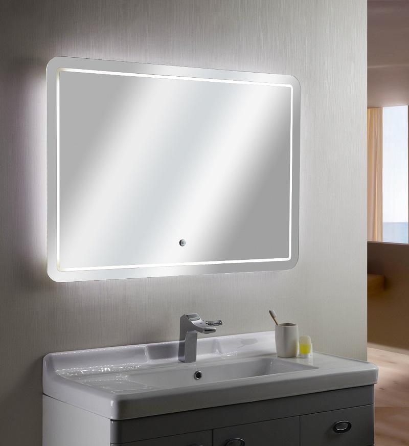 Rowenta Specchio Pieghevole.Specchio Con Luce Led Touch Screen Rettangolare L 100xh 70cm Mastin 01