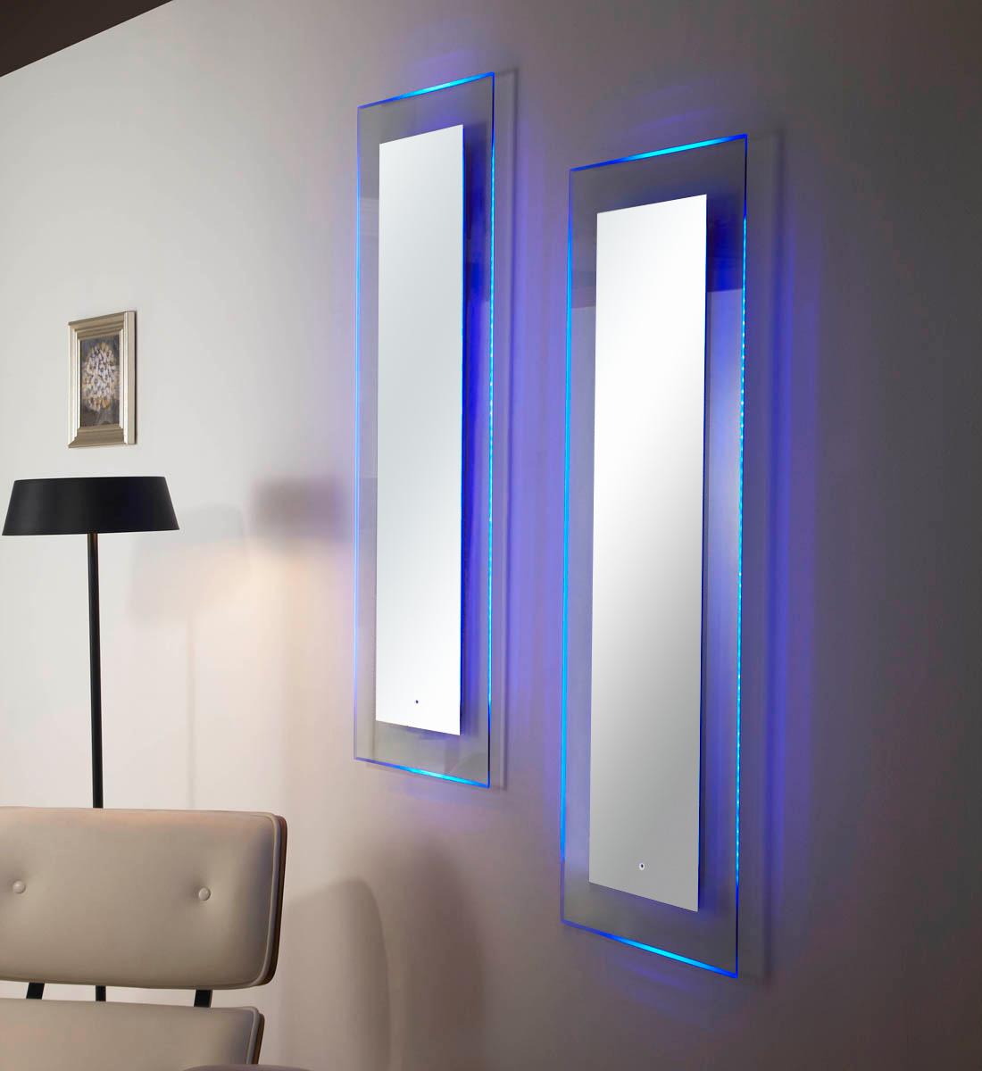 Rowenta Specchio Pieghevole.Specchio Con Luce Led Touch Screen Rettangolare L 70xh 90cm Mastin 11