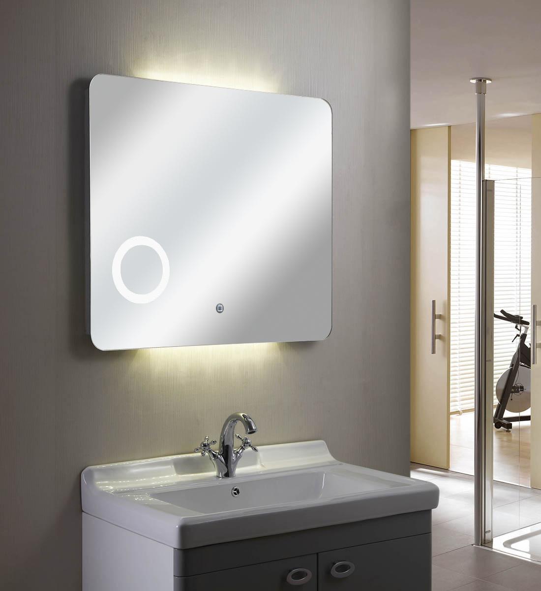 Rowenta Specchio Pieghevole.Specchio Con Luce Led Touch Screen Rettangolare L 80xh 70cm Mastin 12