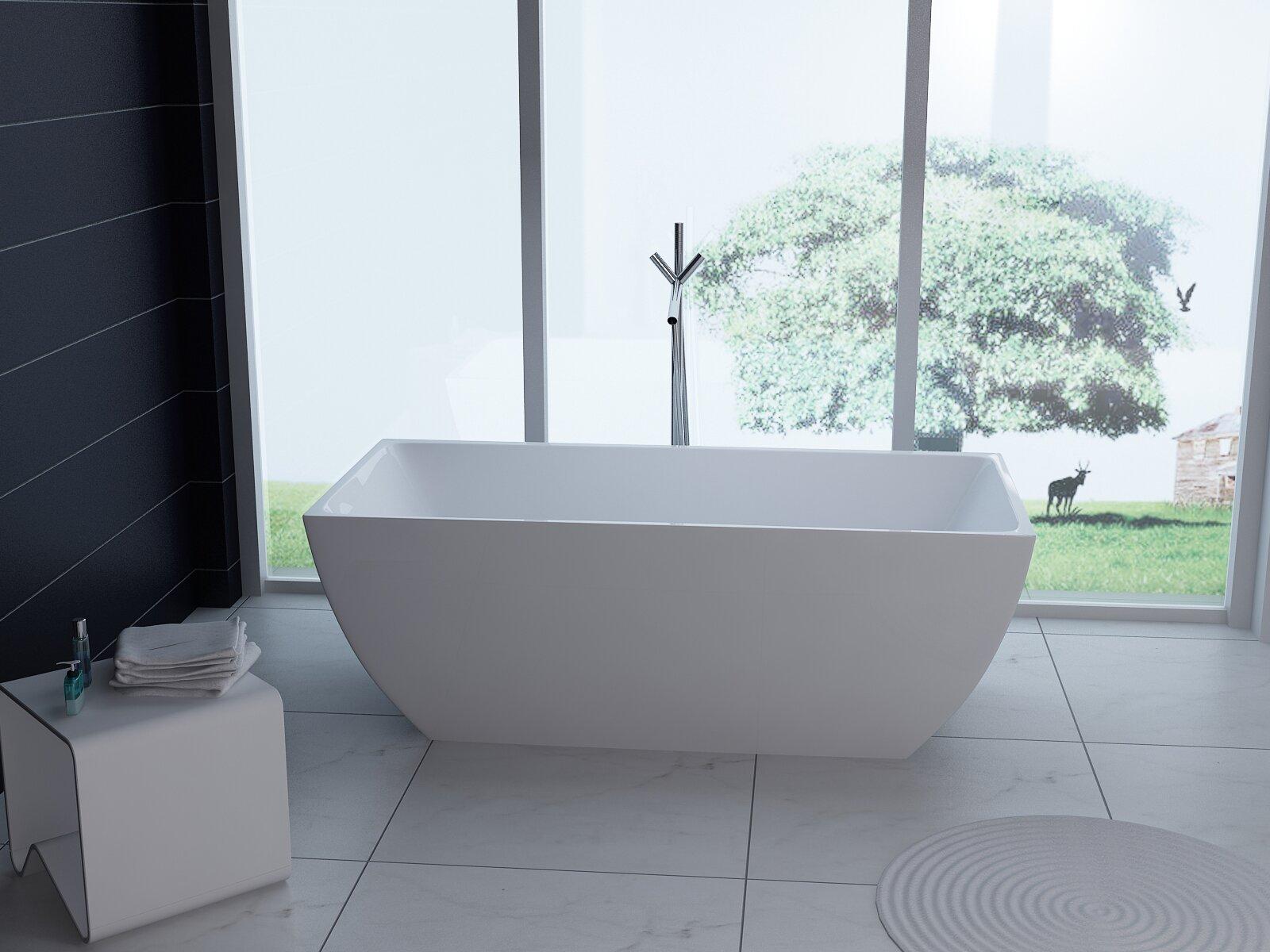 Vasca Da Bagno Freestanding In Acrilico : Mitepek vasca da bagno freestanding in acrilico cm