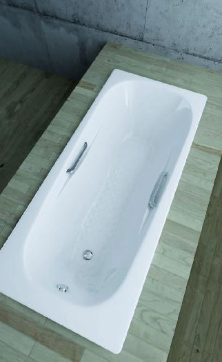 MITEPEK.IT - Vasca da bagno incasso, acciaio porcellanato ETRURIA
